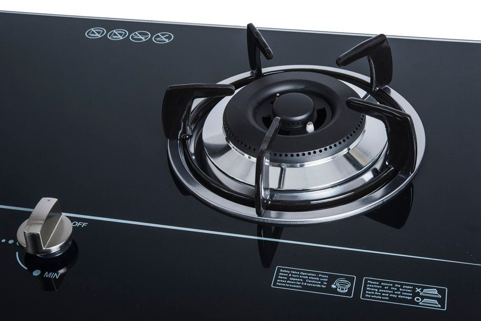 Build in gas on glass hob SUNHOUSE SHB5536 004
