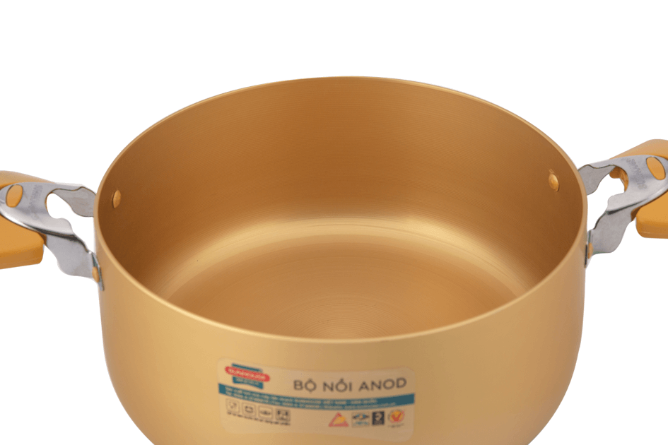 SUNHOUSE anodized cookware set SH8834 005