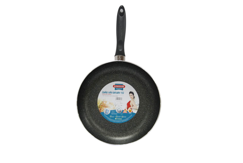 SUNHOUSE INDUCTION MARBLE FRY PAN SHM28D 001