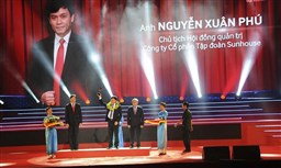 Sao Do Award Ceremony - 100 Most Excellent Young Entrepreneurs in Vietnam