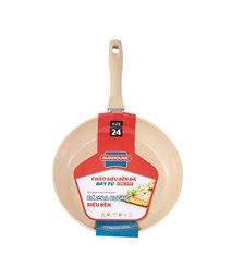 SUNHOUSE MARBLE INDUCTION FRY PAN SFP24