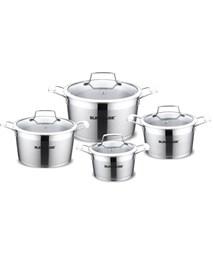 4-piece five-layer-bottom cookware set SUNHOUSE SH783