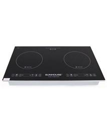 Double induction cooktop SUNHOUSE SHB9108-S