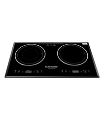 Double infrared induction cooker SUNHOUSE SHB8609