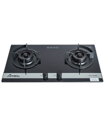 High Qualified Build In Gas On Glass Hob With 2 Burners APEX APB8811