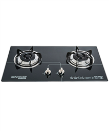 Build in gas on glass hob SUNHOUSE MAMA MMB6632