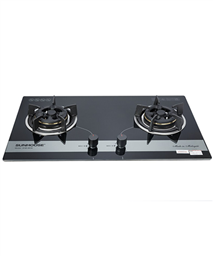 Build in gas on glass hob SUNHOUSE SHB8836