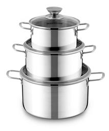 SUNHOUSE 3-piece cookware set SH116