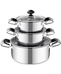 SUNHOUSE 3-piece cookware set SH365