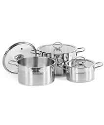 3-piece five-layer-bottom cookware set SUNHOUSE SH785
