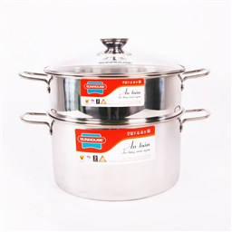 SUNHOUSE stainless steel steamer set SSP24A