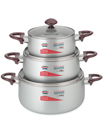 SUNHOUSE anodized cookware set SH8833QT