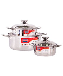 SUNHOUSE 3-piece cookware set SH223