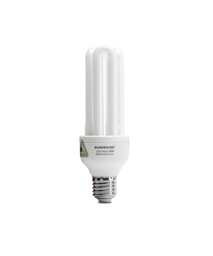 SUNHOUSE COMPACT LAMP SHE CFL3UT4-20W, Screw-cap, white light