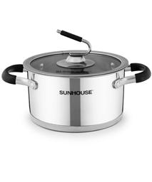 SUNHOUSE three-layer bottom pot SHG24320