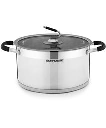 SUNHOUSE three-layer bottom pot SHG24326