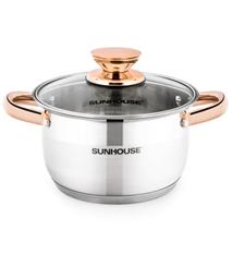 SUNHOUSE five-layer bottom pot SHG24216