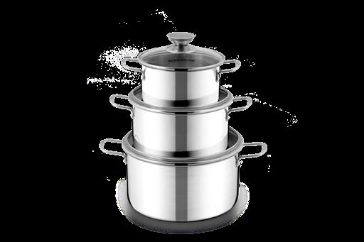 Inox pot set